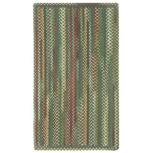 Bear Creek Hunter Green Braided Rugs (Custom)
