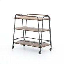 Garland Bar Cart-light Brushed Parawood