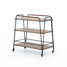Garland Bar Cart-light Brushed Parawood