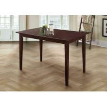 Clayton Cappuccino Rectangular Dining Table