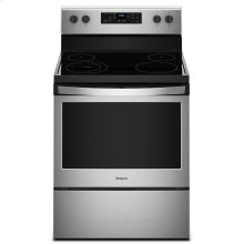 5.3 cu. ft. Freestanding Electric Range with 5 Elements Black-on-Stainless