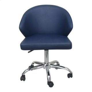 Albus Swivel Office Chair Blue
