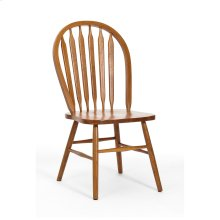 Classic Oak Chestnut Plain Arrow Side Chair