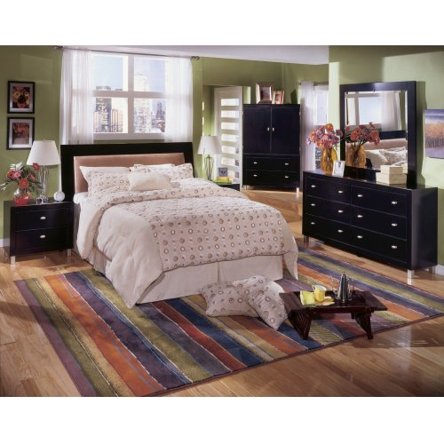 Lynnton - Rustic Brown 2 Piece Bedroom Set