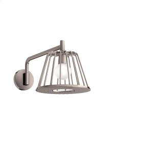 Polished Nickel LampShower 275 1jet with shower arm