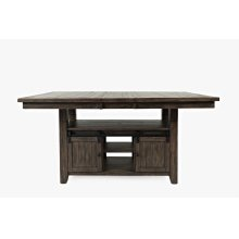 Madison County High/low Ext Table Top - Barnwood