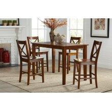 Simplicity Counter Height Dining Table - Caramel