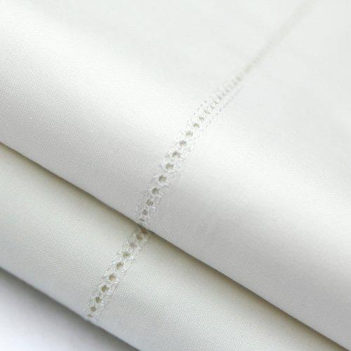 Italian Artisan Sheet Set King Pillowcase Ivory