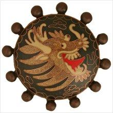 Cloisonn' Beaded with Dragon