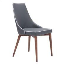 Moor Dining Chair Dark Gray
