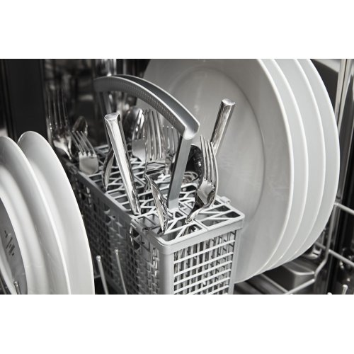 Panel-Ready Compact Dishwasher with Stainless Steel Tub
