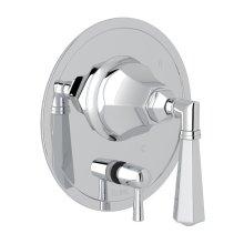 Polished Chrome Palladian Pressure Balance Trim With Diverter