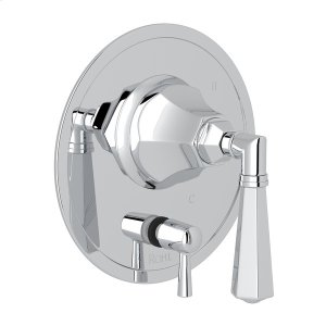 Polished Chrome Palladian Pressure Balance Trim With Diverter Product Image