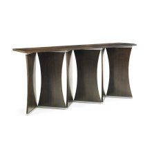 Affinity Wood / Metal Console Table