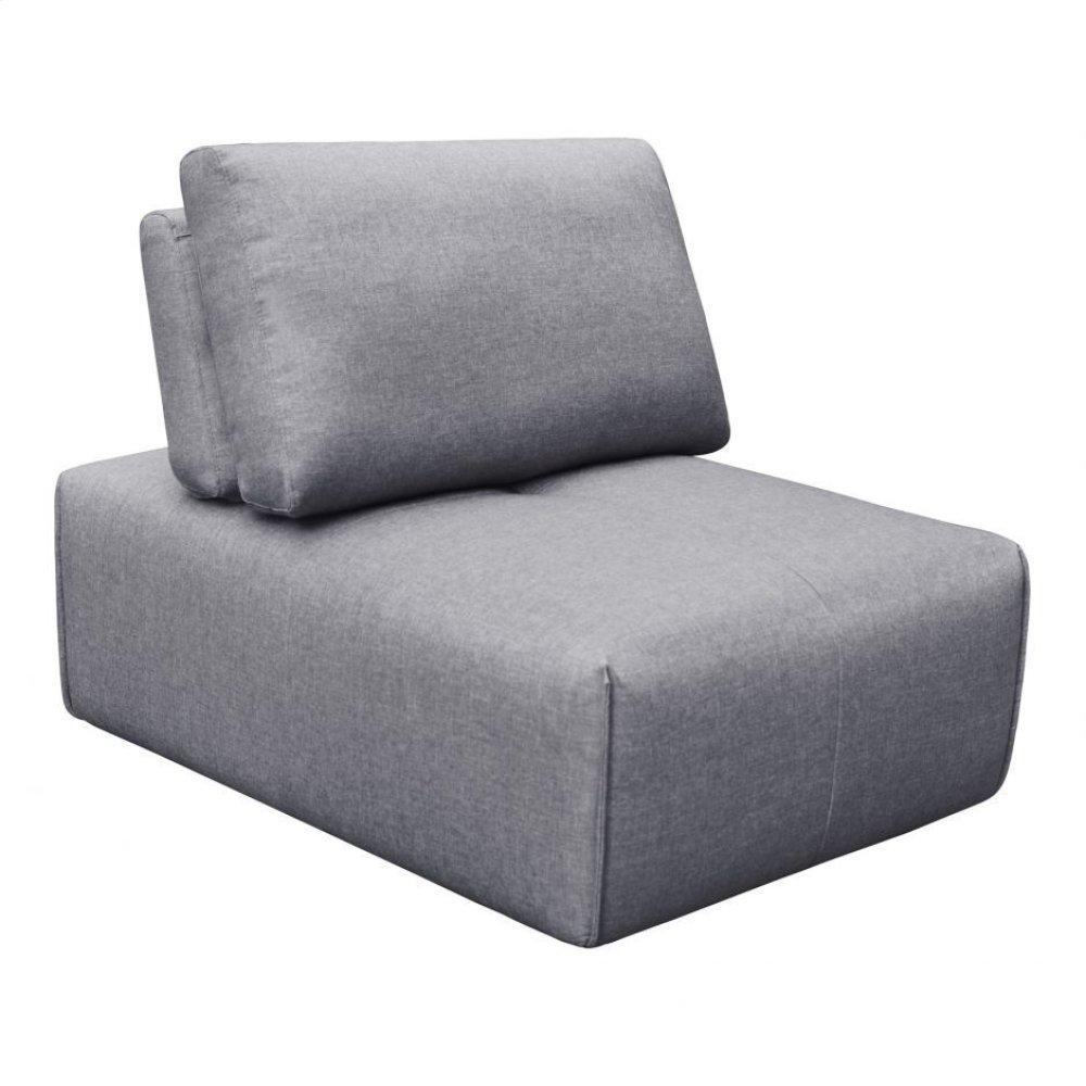 Nathaniel Slipper Chair Light Grey
