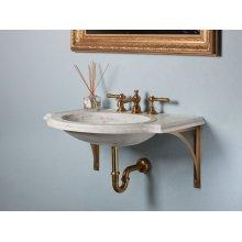 Petite Renaissance Basic Wall Brackets / Brass