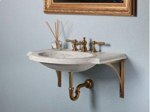 Petite Renaissance Basic Wall Brackets / Brass Product Image