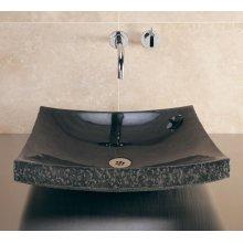 Zen Vessel Black Granite