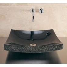 Zen Vessel Black Granite