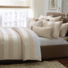 10 pc King ComforterSet Sand