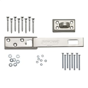 """Hasp  7-1/4"""" Heavy Duty Steel Bar Security Hasp - No Finish Product Image"""