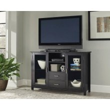 Trista Transitional Black TV Console