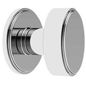 Chrome Plate Bathroom thumb turn, concealed fix