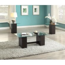 EARLEEN ESP.3PC C/E TABLE SET