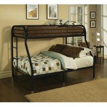 TRITAN BLACK T/F BUNK BED
