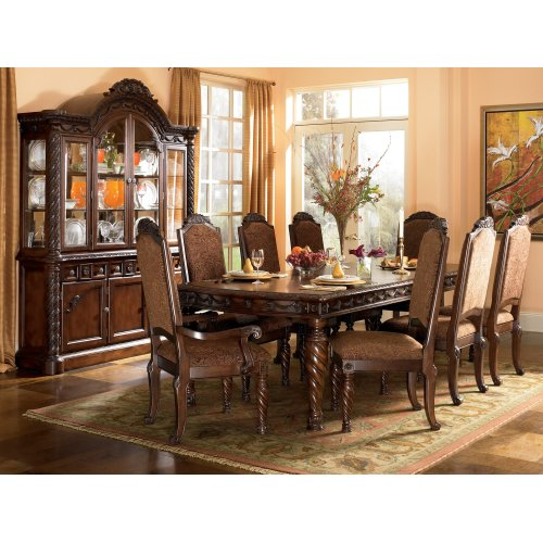 North Shore - Dark Brown 2 Piece Dining Room Set