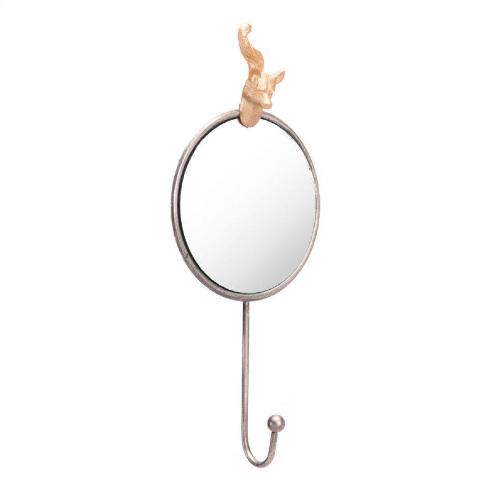 Fox Mirror Antique