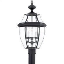 Newbury Outdoor Lantern in Mystic Black