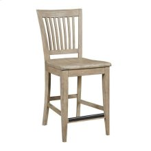 The Nook Counter Height Slat Back Chair