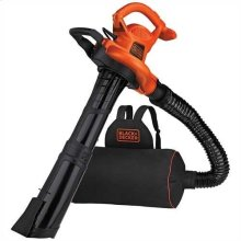 3in1 VACPACK 12 Amp Leaf Blower, Vacuum, and Mulcher