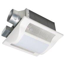 WhisperFit-Lite 50 CFM Low Profile Ventilation Fan with Light