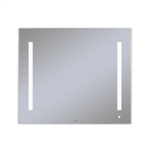 "Aio 35-1/8"" X 29-7/8"" X 1-1/2"" Lighted Mirror With Lum Lighting At 4000 Kelvin Temperature (cool Light), Dimmable, Usb Charging Ports and Om Audio Product Image"