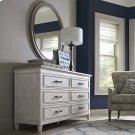 Bella 6 Drawer Wood Top Dresser Product Image