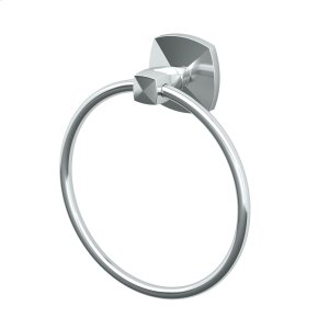 Jewel Towel Ring in Chrome Product Image