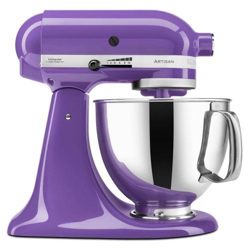 Artisan® Series 5 Quart Tilt-Head Stand Mixer Grape