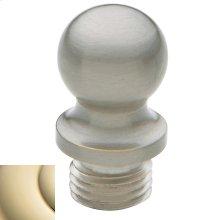 Lifetime Polished Brass Ball Finial