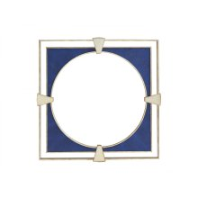 Adour Shagreen Square Mirror
