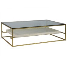 Cumulus Large Rectangular Cocktail Table