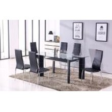 Star 7PC Black Table