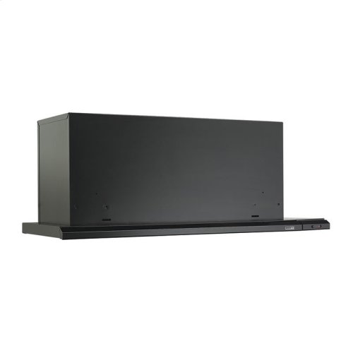 "36"" 300 CFM Black Slide Out Range Hood"