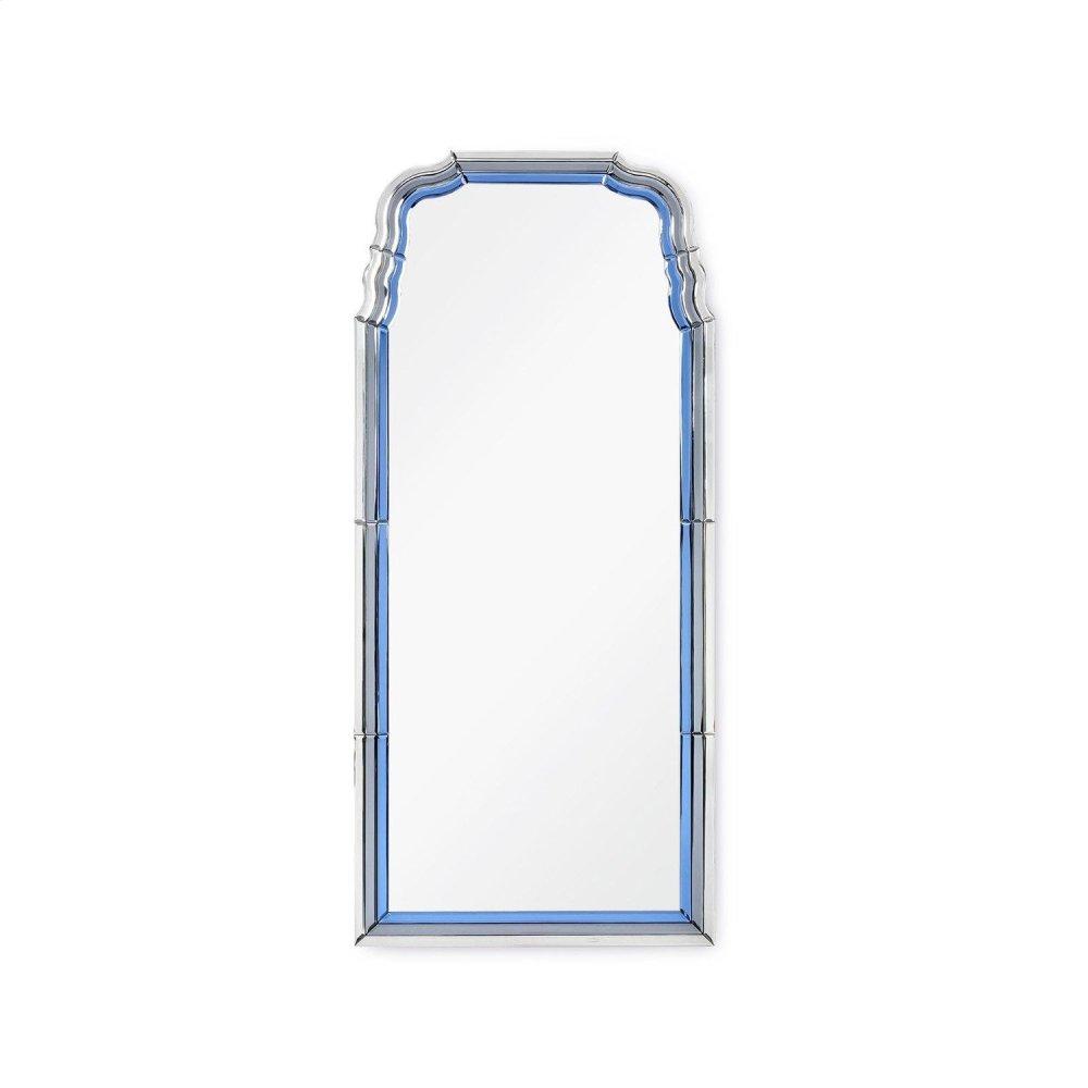 Anne Mirror, Sapphire Blue and Gray