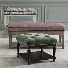 Custom Bench Rectangle Bench w/Shelf