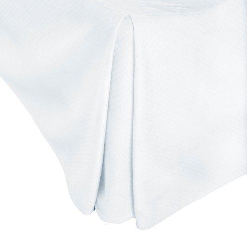 Matelassé Bed Skirt Cal King