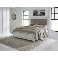 Kanwyn - Whitewash 3 Piece Bed Set (King)