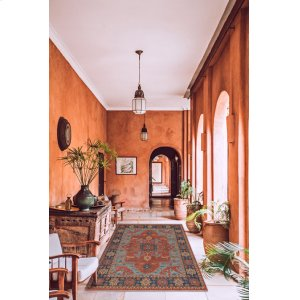 Estate-Nomad Rust Navy Hand Knotted Rugs