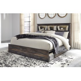 Drystan - Multi 4 Piece Bed Set (King)